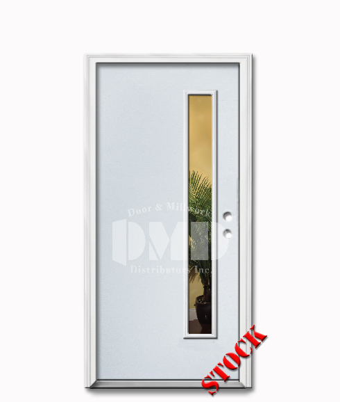 1 Lite Flush Steel Exterior Door 6 8 Door And Millwork